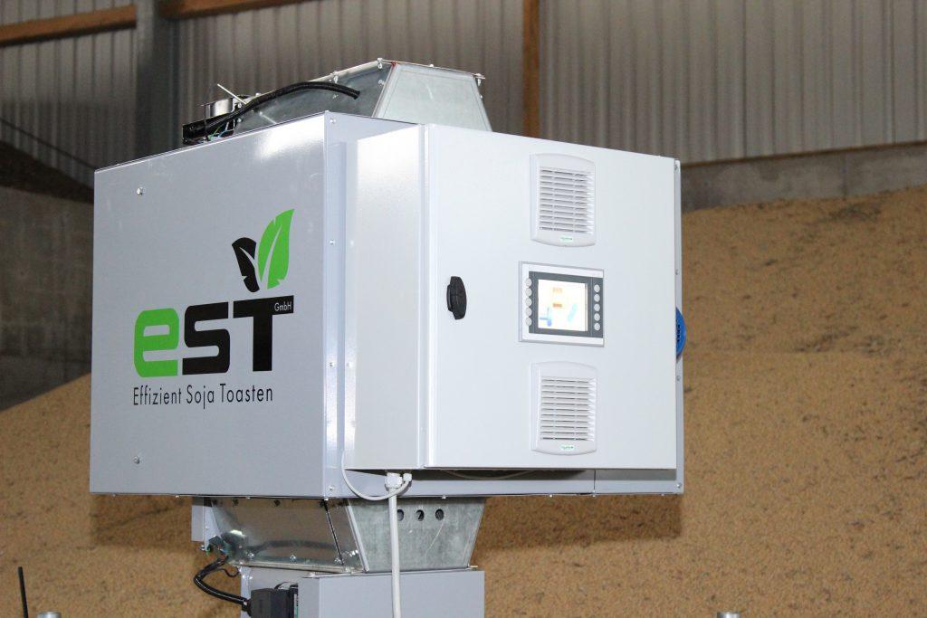EcoToast der Firma EST in einer Halle, hier wird kleinstes Model gezeigt